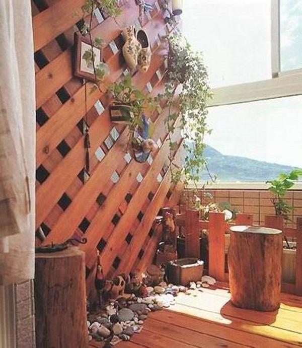 Decorating Balcony , Balcony Design-52