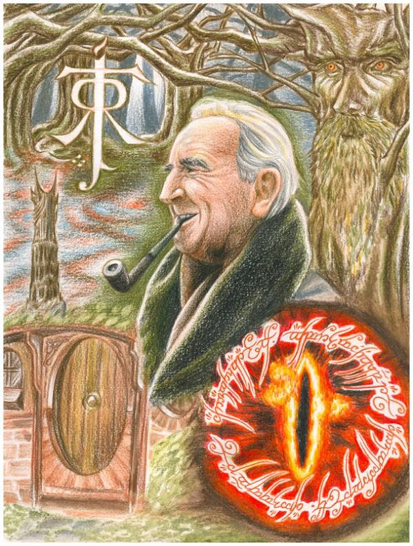 JRR Tolkien Tribute Collage by Norloth