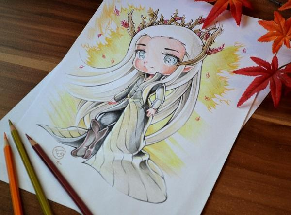 King Thranduil By Lighane