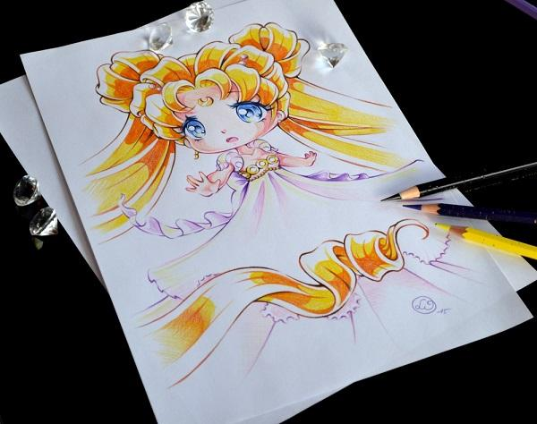 Princess Serenity By Lighane