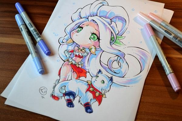Snow Bunny Nidalee By Lighane