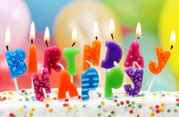 How to have a happy birthday party? Just candles and cake?