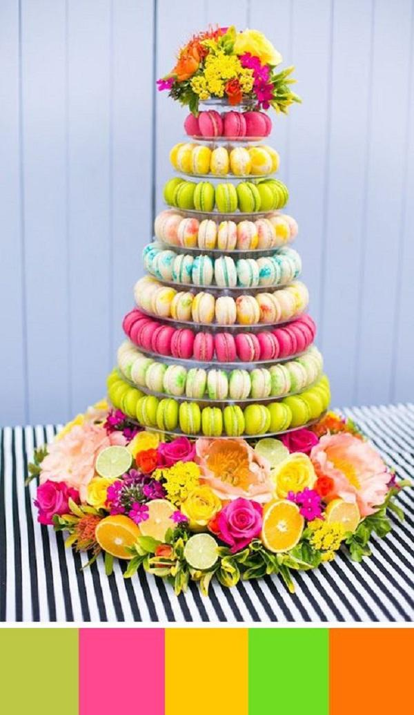 Summer Birthday Party For Girls_Summer Macaroons