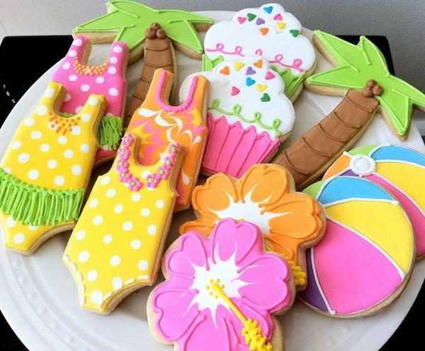 Summer Birthday Party For Girls_Summer Cookies