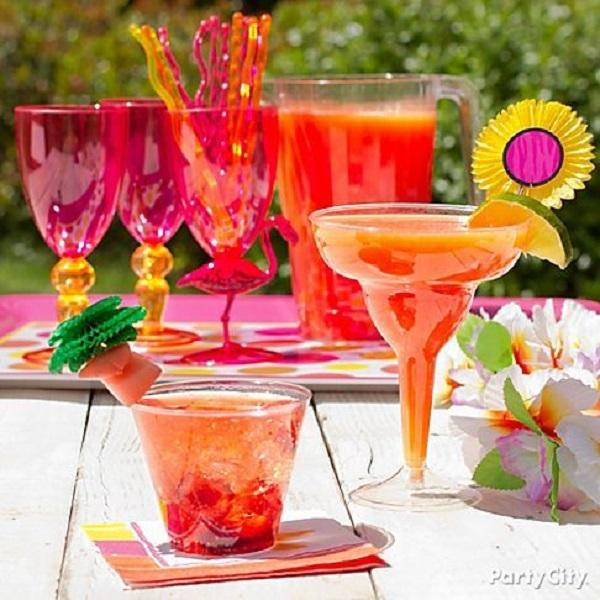 Summer Birthday Party For Girls_DIY Fruit Cocktails