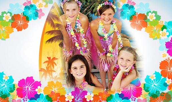 Summer Birthday Party For Girls_Tropical Theme Party Goers