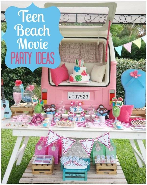 Summer Birthday Party For Girls_Teen Beach Movie Party