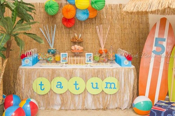 Summer Birthday Party For Girls_Teen Beach Movie Bash
