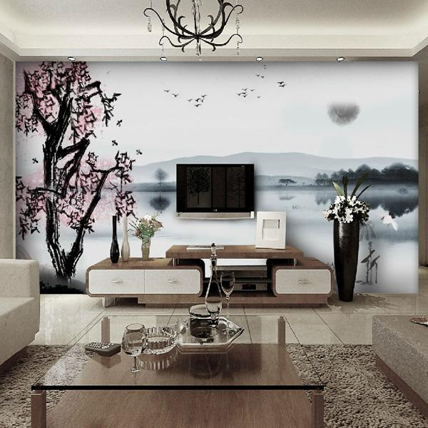 Popular Bamboo Wall Decals Murals Beautiful Wall Decals Ideas