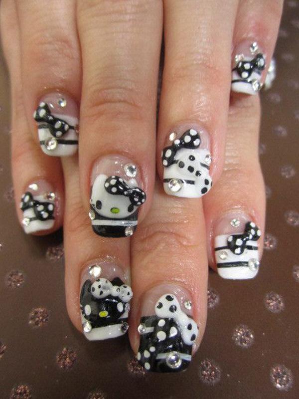 Black & White Hello Kitty-46