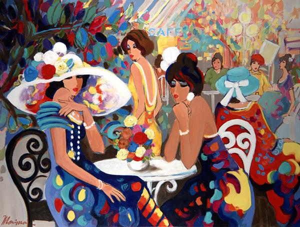 Cafe La Parisienne by Isaac Maimon