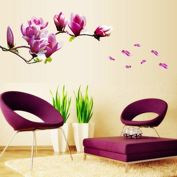 Fancy Docooler Removable Wall Stickers Art Decals Quotes Wallpapers Living Room Kitchen Bedroom Decorations Various Sizes
