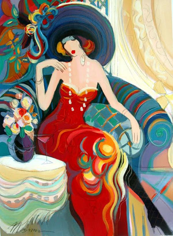 Layla With A Hat by Isaac Maimon