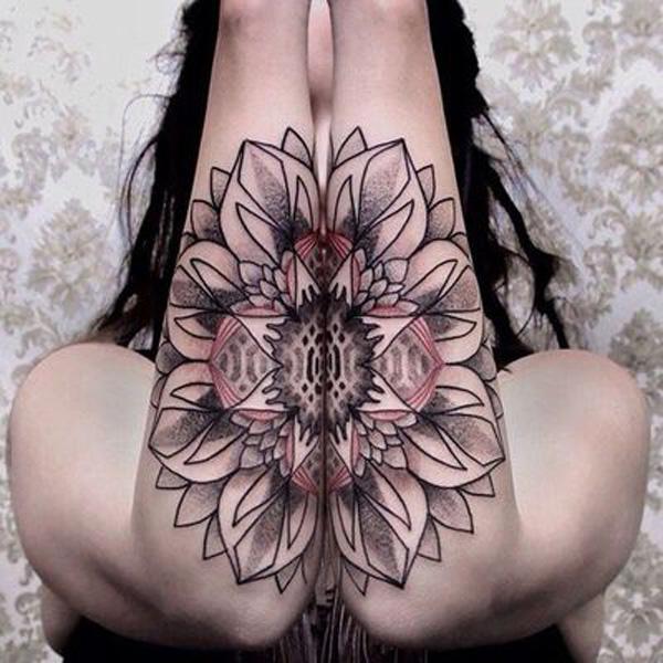 Mandala Forearm Tattoo-13