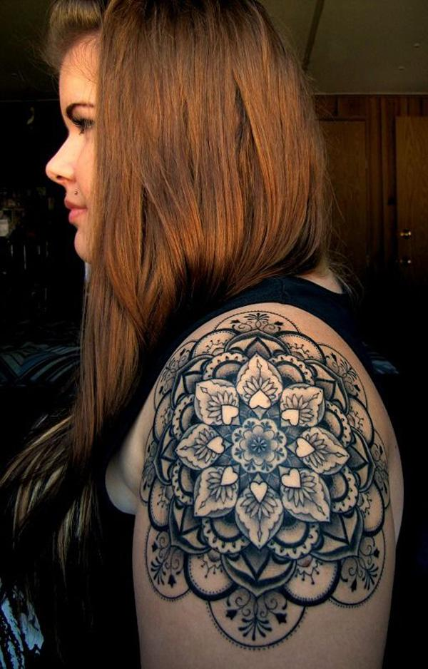 Mandala Quarter Tattoo-18
