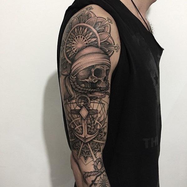 40 Intricate Mandala Tattoo Designs Cuded,How To Burn Designs Into Wood