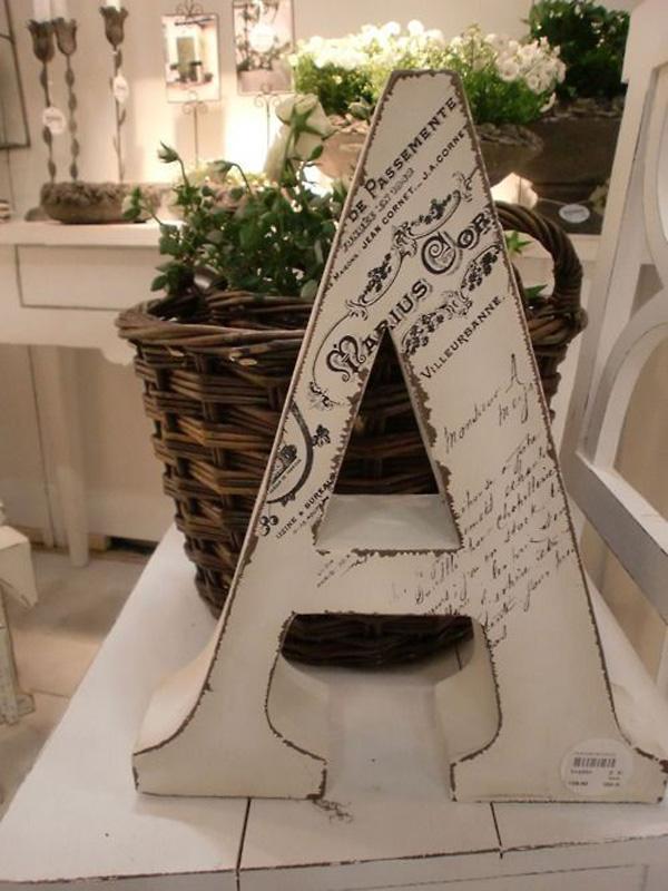 Paint Wooden Letter