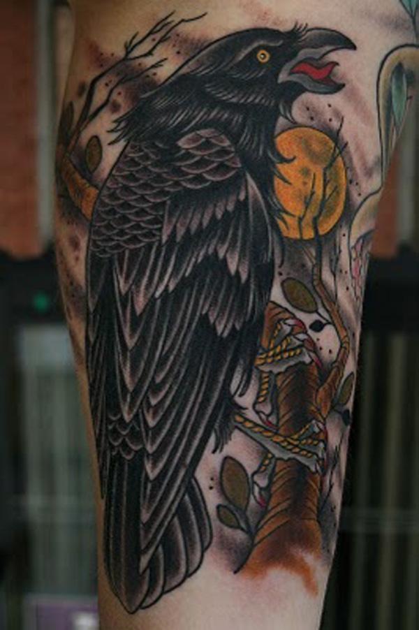 Raven Tattoo-33