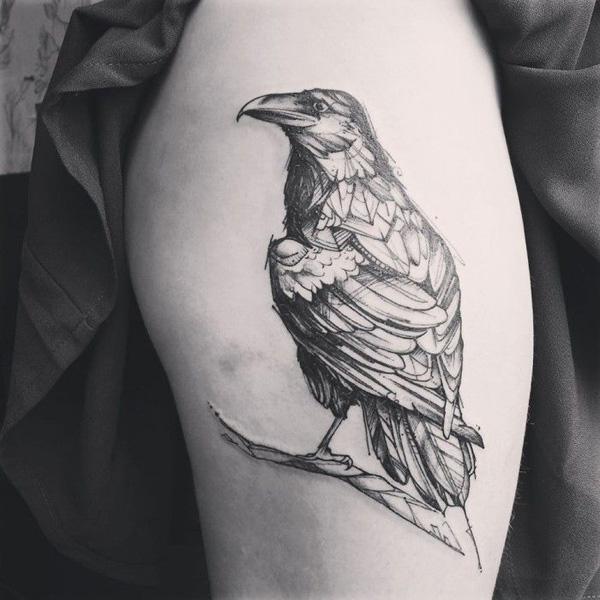 Raven Tattoo-53