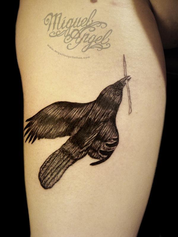 Raven Tattoo-7