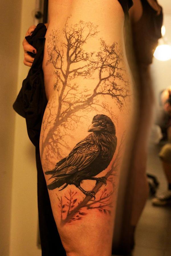 Raven tattoo-