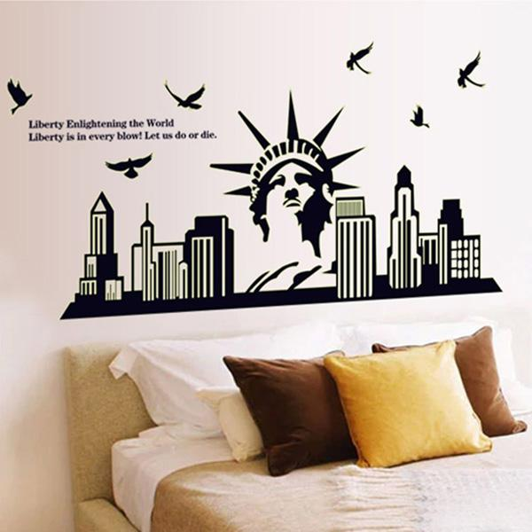 Fresh Removable Wall Stickers Art Decals Quotes Wallpapers Living Room Kitchen Bedroom Decorations Various Sizes and Paintings