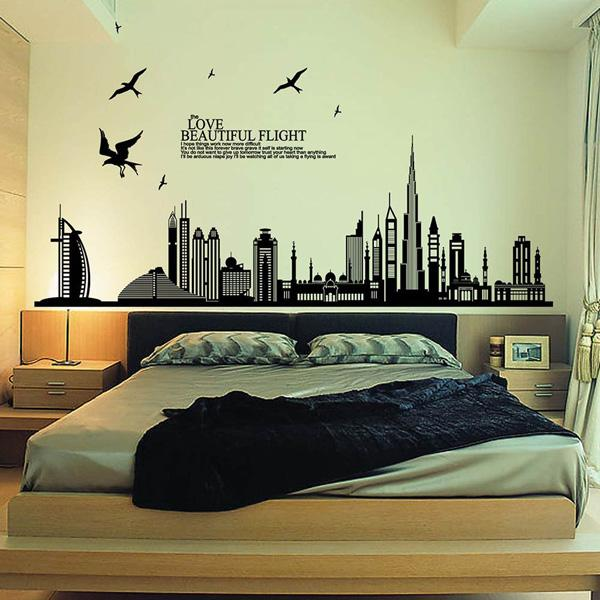 Luxury Love Beautiful Flight Quotes of removable wall stickers for decals in the living room