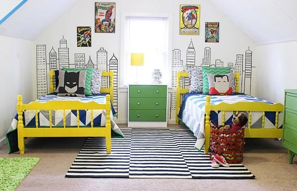 Superhero Bedroom Ideas For Boys | Art and Design