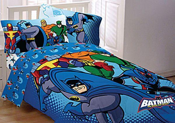 Great Superhero Bedsheet u Pillow Cases If you think that a Superhero bed might just be