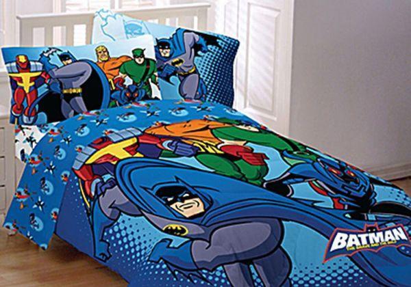 Superhero Bedsheet & Pillow Cases