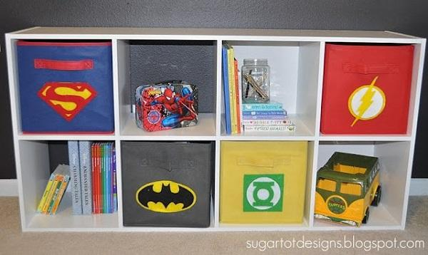 Superhero Storage Boxes