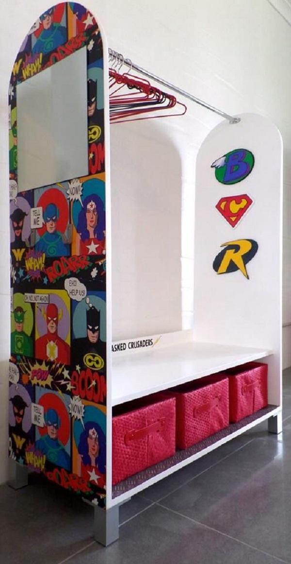 Superhero Open Cabinet