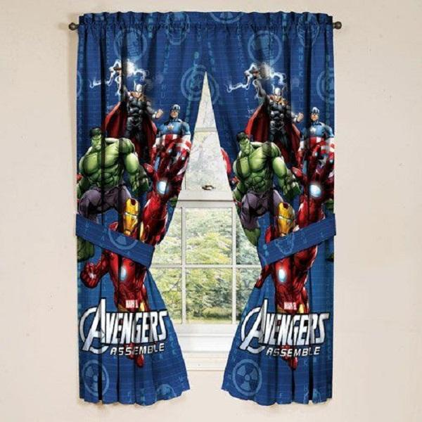 Superhero Curtains