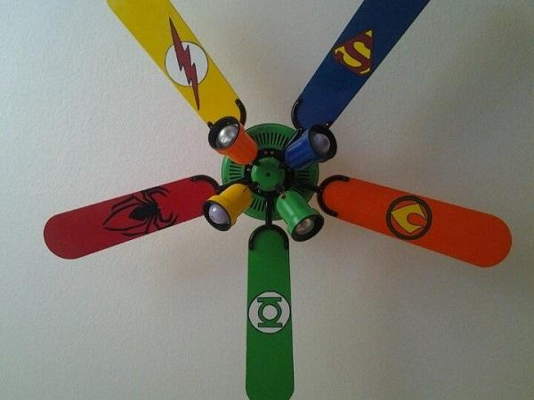 Superhero Ceiling Fan