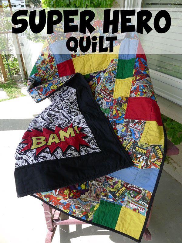 Superhero Quilt