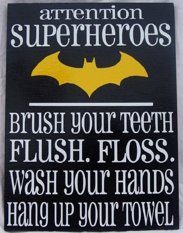 Superhero Framed Reminders