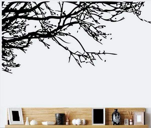 trurendi stunning tree branch removable wall art sticker vinyl decal mural home decor 45 - Wall Art Design Decals