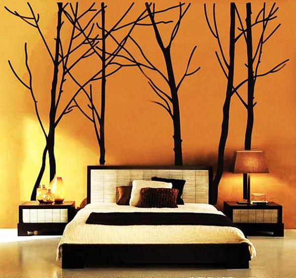Beautiful Tree Wall Decal Forest Vinyl Sticker Large Nursery Wall Decal Beautiful Wall Decals