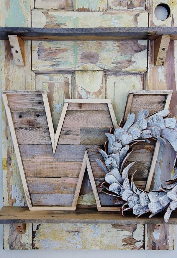 Wood Pallet Letter