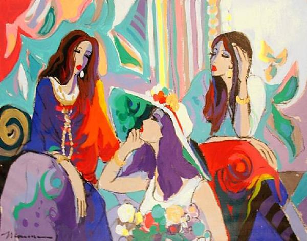 at the cafe by Isaac Maimon