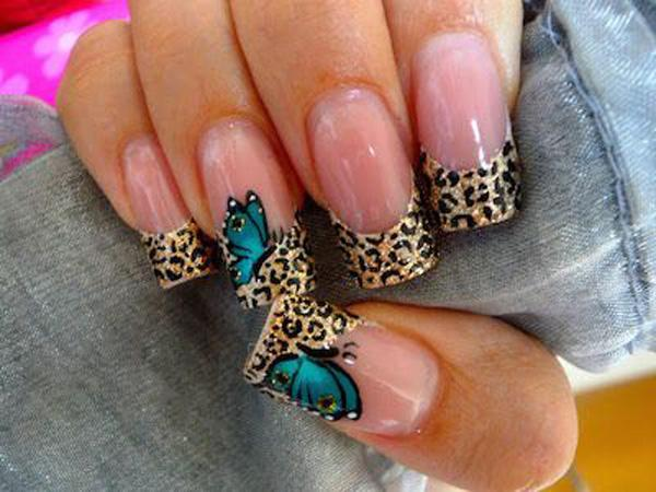 butterfly nail art-10