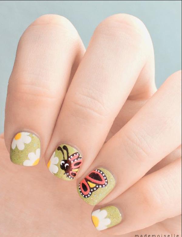 butterfly nail art-11