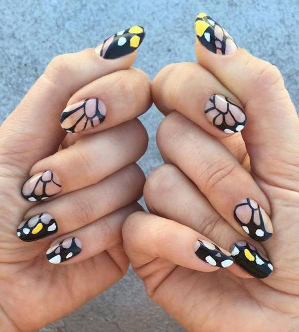 butterfly nail art-16