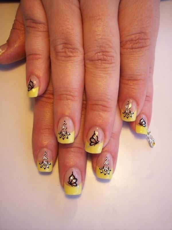 butterfly nail art-18