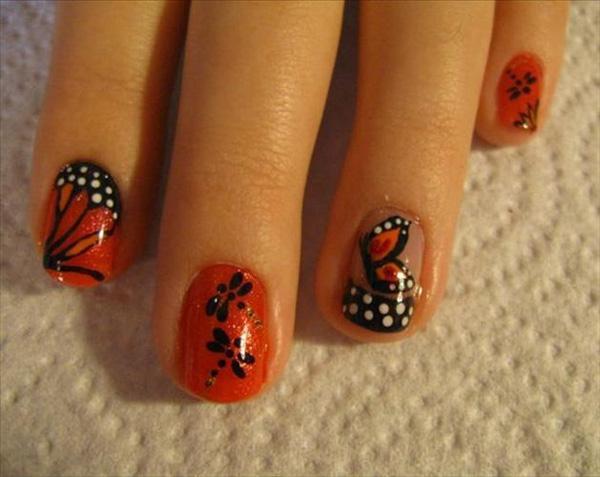 butterfly nail art-20