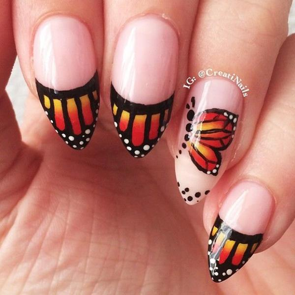butterfly nail art-24