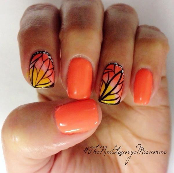 butterfly nail art-25