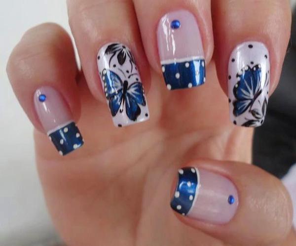 butterfly nail art-26