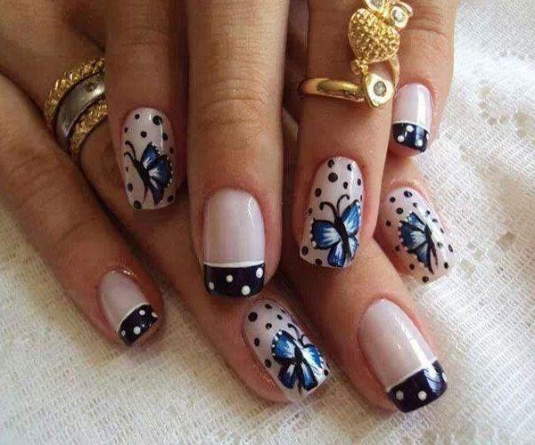 butterfly nail art-29