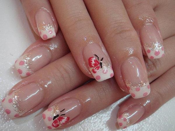 butterfly nail art-30